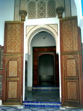 Museums of Marrakech Morocco - Palais de la Bahia