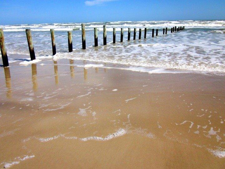 North Padre beach - Padre Island National Seashore - Texas Gulf Coast