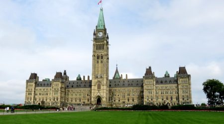 Peace Tower Parliament Hill Ottawa Canada