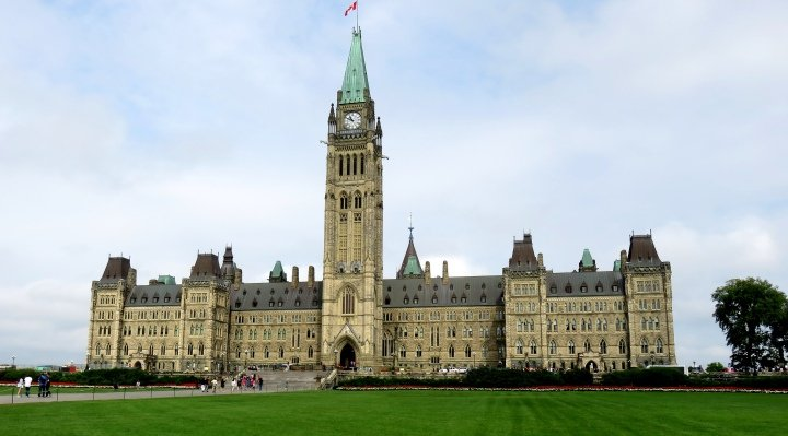 Peace Tower Parliament Hill Ottawa Canada - Centre Block - free tours available