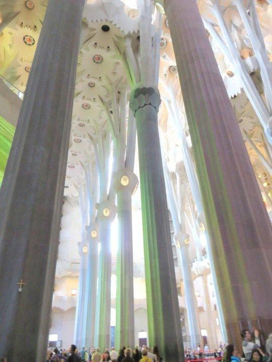 Barcelona - Sagrada Familia pillars