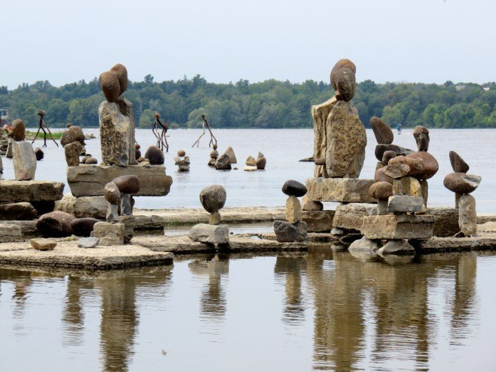 Rock art at Remic Rapids Ottawa River