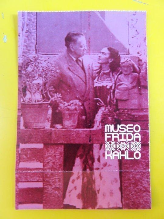 Mexico City Frida Kahlo Museum - Diego Rivera and Frida