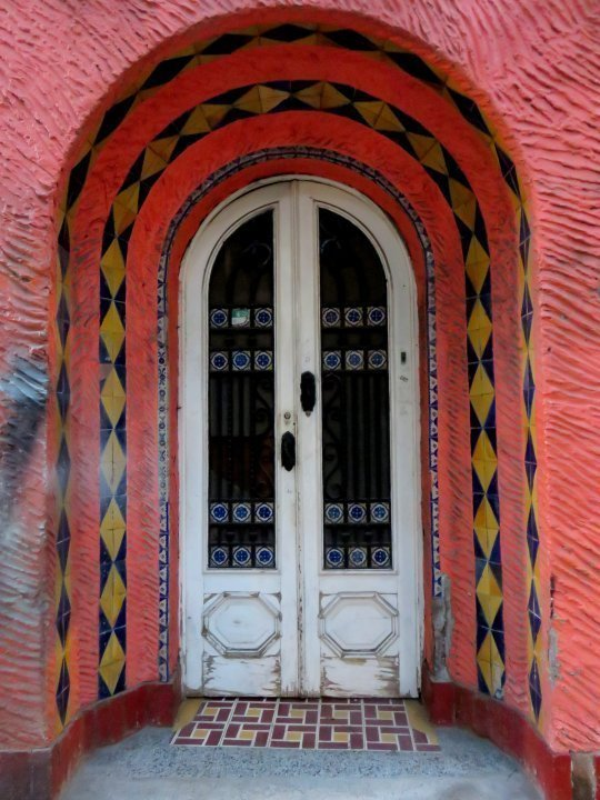 La Condesa Mexico City art deco architecture is abundant - stroll the neighborhood and enjoy the sites, sounds, and food