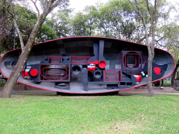Mexico City Mueso de Arte Moderno Manuel Felquerez - El barco Mexico