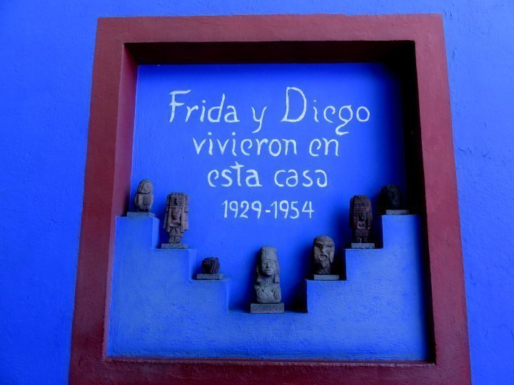 Frida Kahlo Museum - Coyoacan - Mexico City