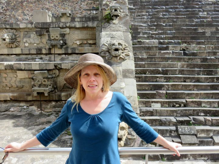 2014 Solo Travel Highlights - pyramids and archaeological site at Teotihuacan