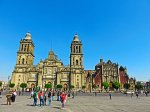 Solo trip to Mexico City - visit the Zocalo plaza in the Centro Historico - Metropolitan Cathedral