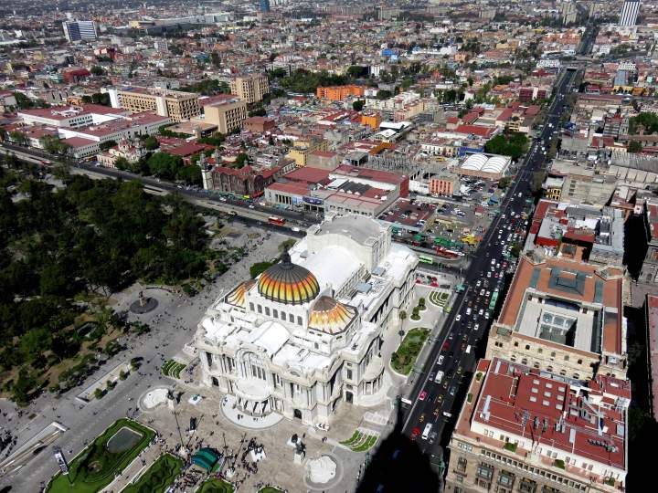Solo Trip to Mexico City - a grand vista from the Torre Latinoamericana building