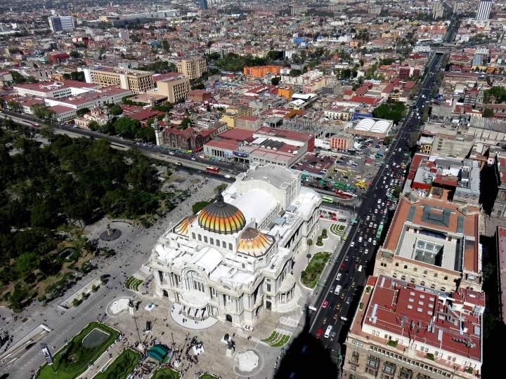Solo Trip to Mexico City - a grand vista from the Torre Latinoamericana building
