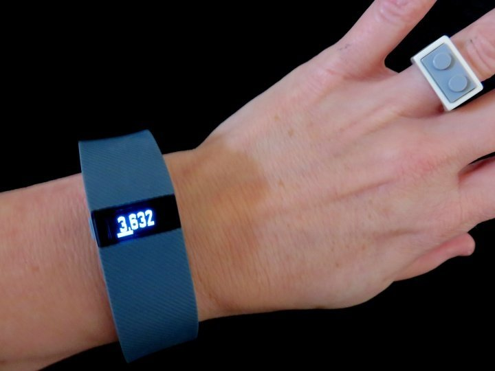 Fitbit charge helps me stay healthy - provides motivation and discipline through fitness tracking