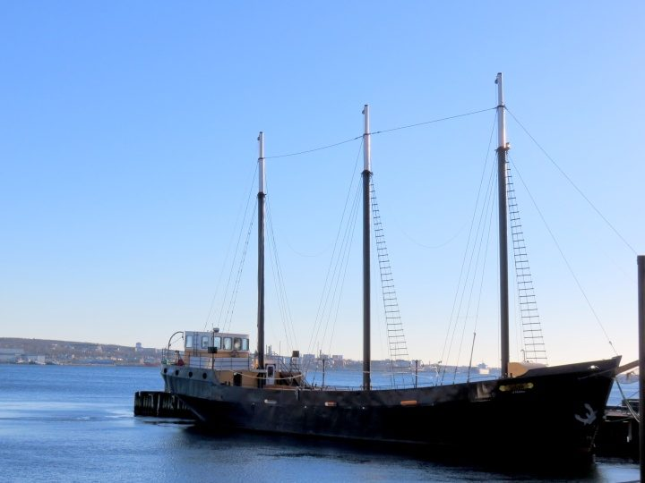 Nova Scotia itinerary day 1 - Halifax Nova Scotia waterfront - Tall Ship Silva