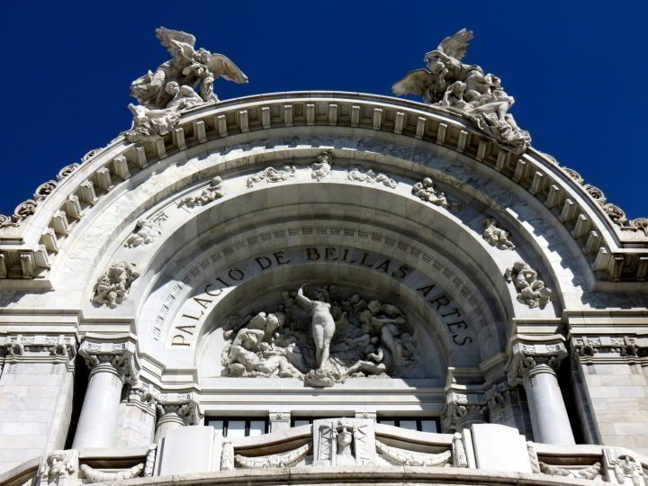 Mexico City solo trip must include a visit to Palacio de Bellas Artes building and art museum. Next to Alameda Central Park on the west end of the historic district