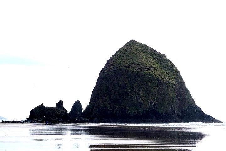 Haystack at Cannon Beach - Pacific coast Oregon