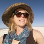Susan Moore at White Sands National Monument