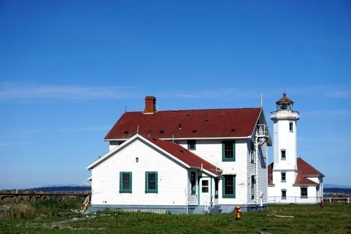 Lighthouse in Port Townsend WA