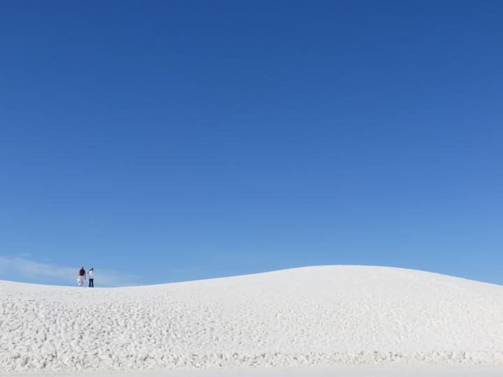 White Sands National Monument near Las Cruces New Mexico