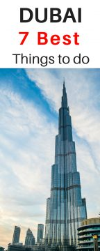 Burj Khalifa - 7 best things to do in Dubai