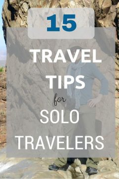 15 travel tips for solo travelers