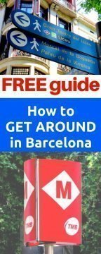 Free travel guide - how to get around in Barcelona on your own