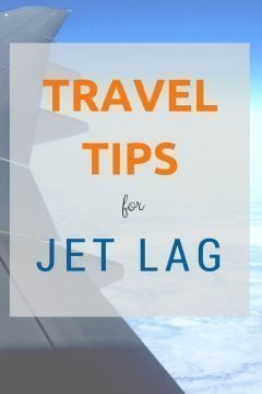 Travel tips for curing jet lag