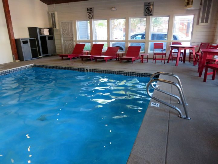 Mountain Modern Motel review - swimming pool - Jackson Hole Wyoming