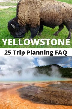 Yellowstone National Park 25 Trip FAQ - Planning a trip to Yellowstone guide