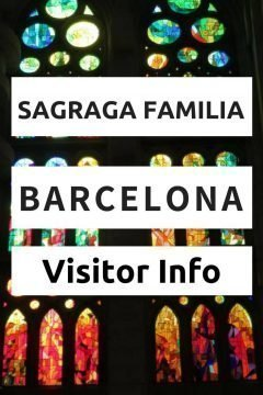 Sagrada Familia visitor info for Barcelona's top tourist attraction. Get info on tickets and more...