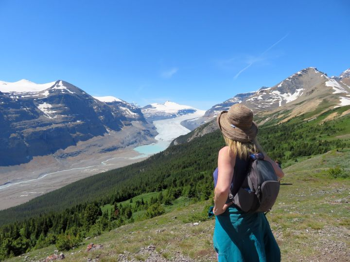 Parker Ridge Trail Day Hike on Icefields Parkway Banff to Jasper •