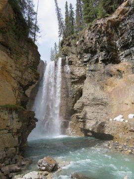 Upper Falls at Johnston Canyon Banff