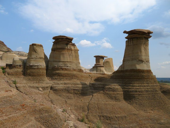 Drumheller Hoodoos tourist attraction in Drumheller AB - one of the top 10 things to do in Drumheller