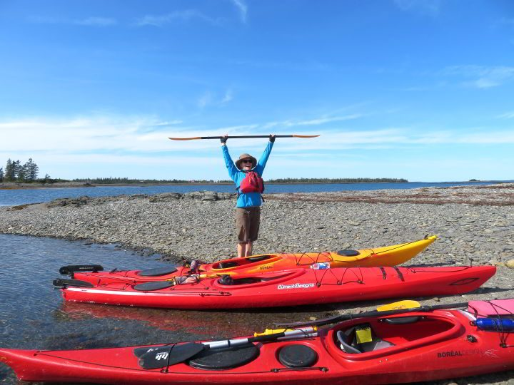 Kayaking in Nova Scotia is FUN!!!