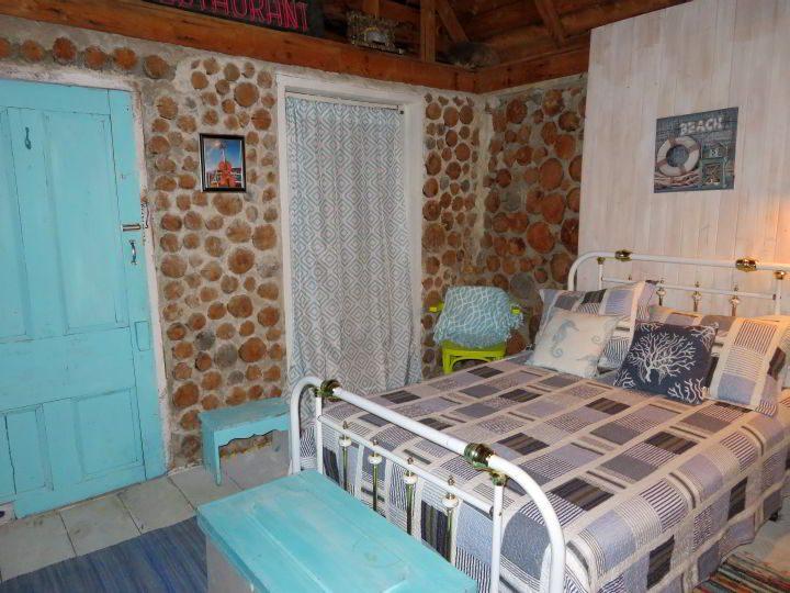 Bedroom at Cape Breton Cabot Trail cottage accommodations Nova Scotia