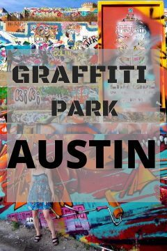 Graffiti park Austin TX graffiti wall murals outdoor art gallery Baylor Street downtown ATX street art