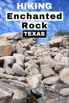 Hiking Enchanted Rock Texas is the perfect day trip from Austin