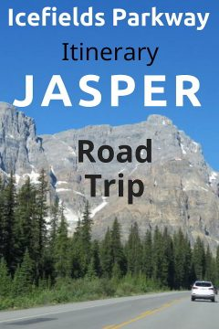 Icefields Parkway itinerary Banff to Jasper National Park. A road trip through the Canadian Rocky Mountains of Alberta. Top photo ops along the way.