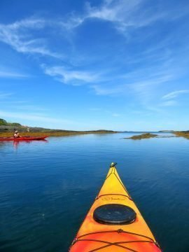 Kayaking Nova Scotia Blue Rocks South Shore fun things to do in Nova Scotia