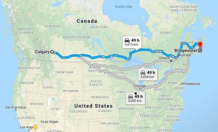 Epic Canada Road Trip Driving Across Country in 6 Days