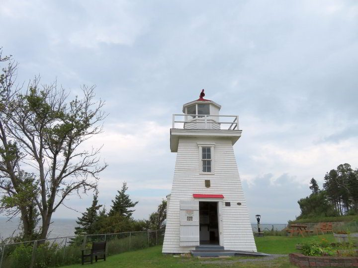 Walton Lighthouse is a wooden structure built in 1873 in Hants County NS