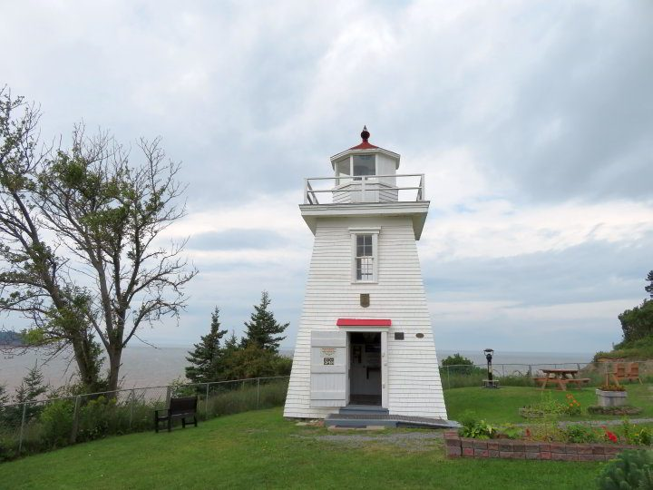 Walton Lighthouse is the last original lighthouse in Hants County Nova Scotia Canada
