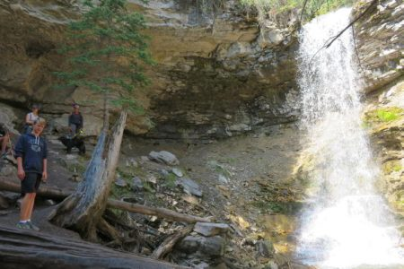Troll Falls Hike Kananaskis Alberta – Beautiful Waterfall