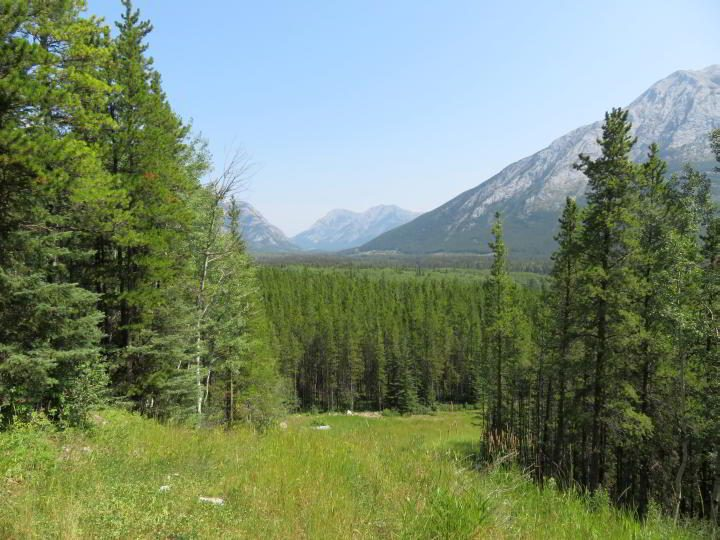 Rocky Mountains landscape in Kananaskis Country Alberta Canada
