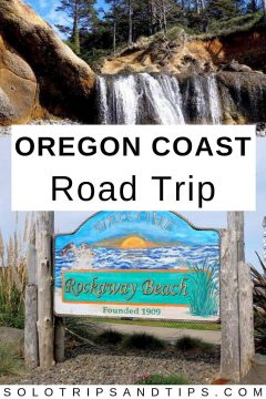See beautiful beaches when you take a road trip to the Oregon coast, an easy day trip from Portland