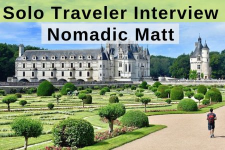 Solo Traveler Interview with Nomadic Matt (Matthew Kepnes)