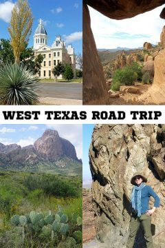 West Texas road trip to Marfa plus hiking at Big Bend National Park