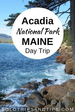 Acadia National Park coastal Maine day trip