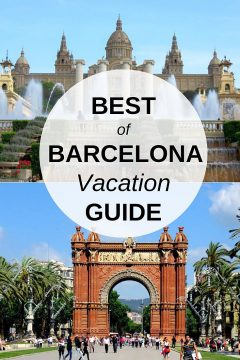 Best of Barcelona Vacation Guide - top tourist spots such as Magic Fountain and the Arc de Triomf