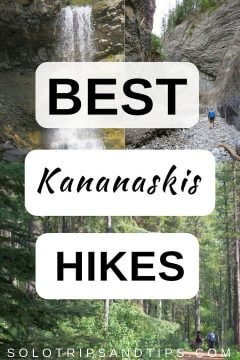 Best Kananaskis hikes - hiking trails near Calgary Alberta Canada