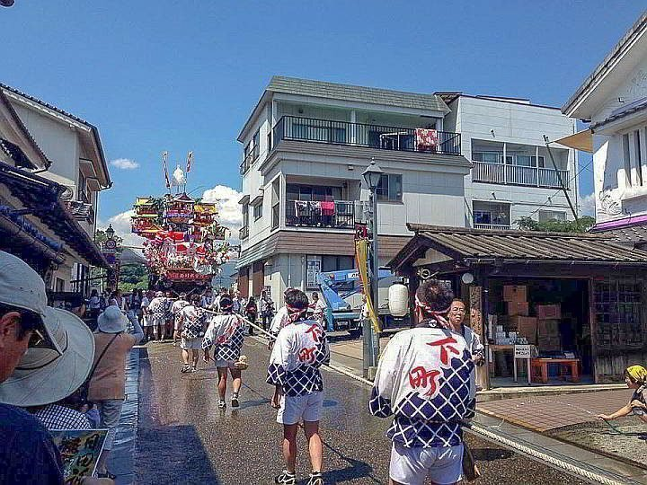 Tokyo Gion Matsuri festival lasts the whole month of July. An annual event since the year 869