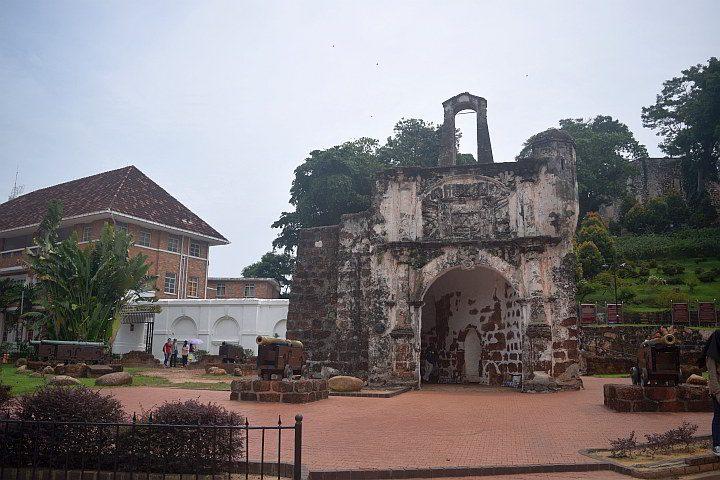 Kota A'Famosa Fort Melaka Malaysia